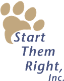 Logo, Start Them Right Inc. - Dog Trainer